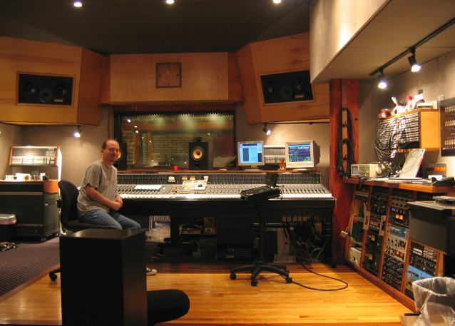 Chris Garges at Electrical Audio's Studio A, Chicago